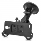 3-in-1 Car Stand + Bracket + Car Charger + Charging/ Data Cable for Samsung Galaxy S4 i9500 - Black