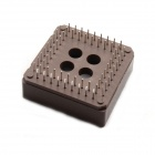 BONATECH chip Base / 68-Pin IC Socket - Brown (2 PCS)