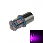 1141 / BA15S / 1156 / G18 2W 120lm 8 x SMD 5050 LED Purple Car Signal Light / Steering Lamp - (12V)