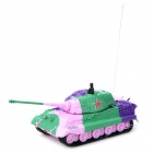 GREATWALL TOYS 2117B-4 Rechargeable 14-CH Tiger R/C Tank + Controller - Pink
