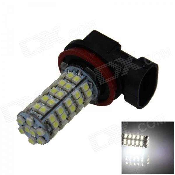 H11 4W 220lm 68 x SMD 1210 LED White Light Car Foglight / Headlamp / Tail light - (12V) h1 4w 220lm 68 smd 1210 led warm white light car foglight headlamp tail light 12v