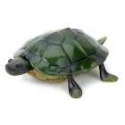Cute Fun Lifelike 2-CH R/C Turtle Toy - Green (3 x AA)