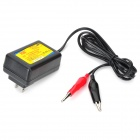 HB-070201 7.2V 1A 7.2W Charger for Lead-Acid Battery - Black (US Plug / AC 100~240V)