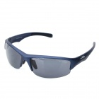 KALLO 99151 UV400 Protection Polarized Grey Lenses Sunglasses - Deep Blue