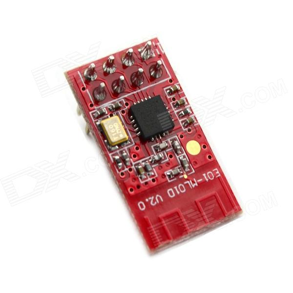 Jtron nRF24L01 + Wireless Module 2.4G RF / Communication / Industrial Grade - Red nrf24le1 wireless data transmission modules with wireless serial interface module dedicated test plate