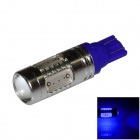 T10 / 194 / 168 / W5W 7.5W 400lm 495nm 5-LED Blue Car Steering Light / Tail Light - (DC 12~24V)