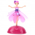 HUA CAI BN927 Cute Fairy Maiden Style 2-CH Flying Toy w/ LED Light - Pink (6 x AA)