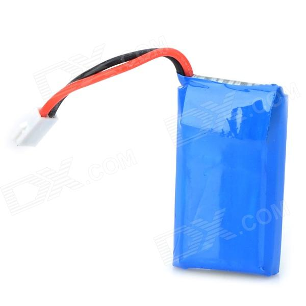 380mAh 3.7V Li-Polymer Battery for Helicopter + Airplane - Blue