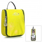 LKLR 6601 Travel Toiletries Storage Nylon Bag - Yellow
