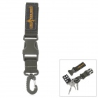 Free Soldier FS-KK01 Outdoor Mountaineering 1000D Nylon Quick Release Buckle w/ Carabiner