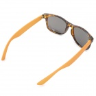 OREKA DY775 Retro Style Fashionable PC Lens UV400 Protection Sunglasses - Brown + Grey