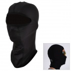 SAHOO 46865 Outdoor Sports Universal Warm Fleece Helmet Mask Cap - Black (Size L)