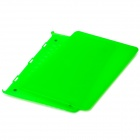 "Protective Plastic Case for ""13-inch MacBook Pro with Retina Display"" - Translucent Green"