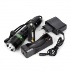 SKYFire SF-003 LED 240lm 3-Mode Memory White Zooming Flashlight - Black (1 x 18650)