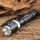SKYFire SF-002 LED 240lm 3-Mode Memory White Zooming Flashlight - Black (1 x 18650)