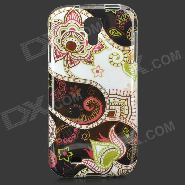 Protective TPU Case for Samsung Galaxy S4 i9500 x pattern protective tpu back case for samsung galaxy s4 i9500 white