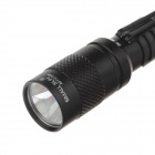 Small Sun AD-713 Mini 100lm 6000K LED White Light Flashlight - Black (2 x AAA)