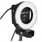Aputure Amaran HN100 CRI 95+ Halo Ring 6W 1020lm 5500K 100-LED Flash Lamp for Nikon Cameras - Black