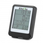 Bikevee Waterproof Multifunction Wireless Bicycle Computer - Black