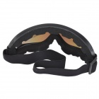 WOLFBIKE BYJ-011 Sports Skiing Goggles - Black