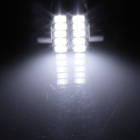 FESTOON 31mm 5W 400lm 10 x SMD 5630 LED blanc voiture liseuse / lampe - de toit (12V / 2 PCS)