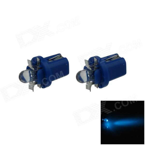 B8.5 0.1W 18lm LED Blue Light Car Painel Lamp / Instrumento Light - (DC 12V / 2 PCS)