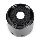 NB043 Dual Bass Bluetooth V3.0 Speaker w/ Microphone + Handsfree Call - Black