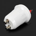 Plastic + aluminium GU10 Lamp Adapter w / Kabel - Wit