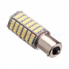 1156 / BA15S 6W 600lm 120 x SMD 3528 LED Yellow Car Steering Light / Tail / Backup Lamp - (12V)
