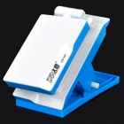 DP LED-667 Rechargeable 2-Mode 1.8W 100lm 6000K 22-LED White Light Foldable Table Lamp -White + Blue