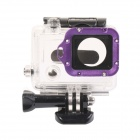 DUALANE Aluminum Alloy Lens Ring w/ Screwdriver for GoPro Hero3 - Purple