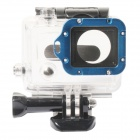 PANNOVO Aluminum Alloy Lens Ring w/ Screwdriver for GoPro Hero 3 - Blue