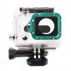 DUALANE Aluminum Alloy Lens Ring w/ Screwdriver for GoPro Hero3 - Green