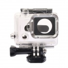 DUALANE Aluminum Alloy Lens Ring w/ Screwdriver for GoPro Hero3 - Silver