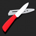BESTLEAD 5'' Anti-skid Handle Ceramic Knife - Red
