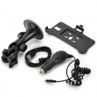 3-in-1 Car Holder + Mount + Charger for Samsung Galaxy Note 3 N9006 - Black