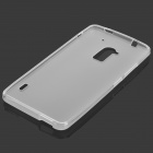 Protective Matte TPU Back Case for HTC One Max T6 / 809D / 8088 - White