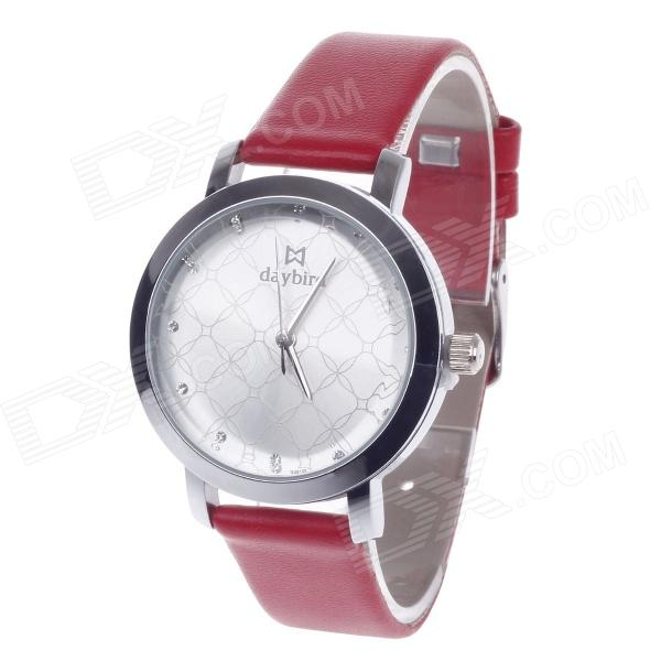 DayBird 3818 Fashionable Women's Analog Quartz Wrist Watch - Red + Silver (1 x LR626) generic chip resetter for epson surecolor p600generic chip resetter for epson surecolor p600