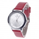 DayBird 3818 Fashionable Women's Analog Quartz Wrist Watch - Red + Silver (1 x LR626)