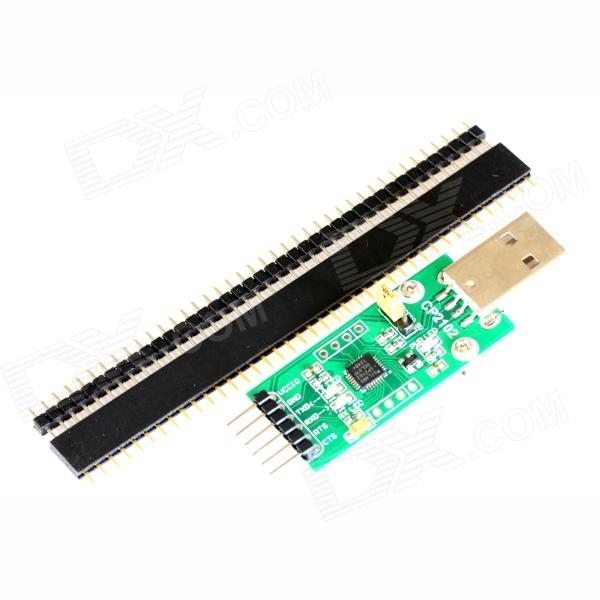 Waveshare CP2102(type A) USB to UART Board / TXD LED/RXD LED/POWER LED/SB to RS232 Development Board