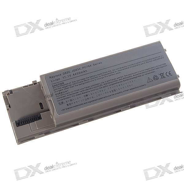 Dell D620/D630 Compatible 4400mAh Replacement Battery for Dell Latitude D620 + More