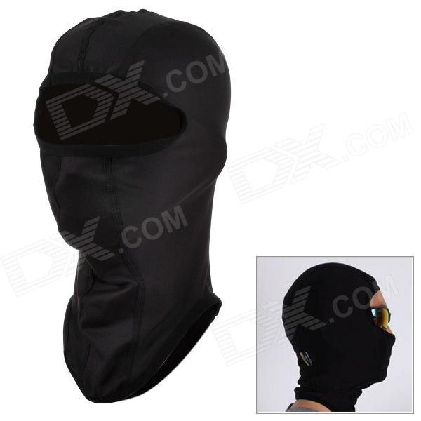 SAHOO 46865 Outdoor Cycling Polyester + Fleece Hat / Face Cover for Men - Black (M)