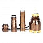SKYFire SK-9270 LED 240lm 3-Mode White Flashlight - Brown + Yellow (1 x 18650 Battery Pack)