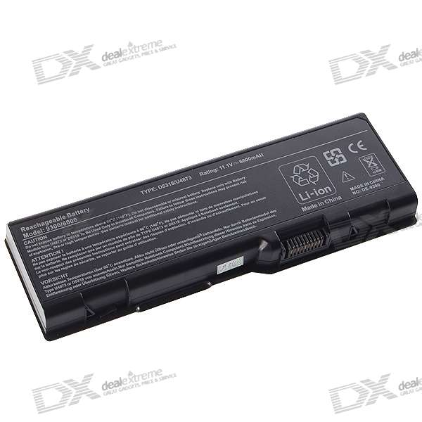 6600mAh Replacement Battery for Dell Inspiron6000 + More