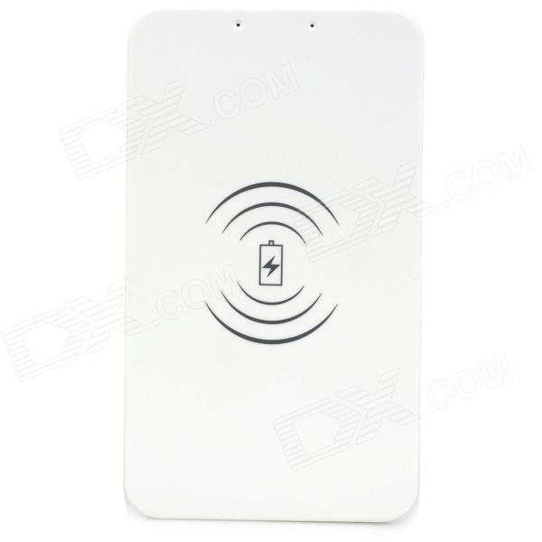TX-5600 Universal Convenient Wireless Charger for Cellphone - White universal qi wireless charger for cellphone black