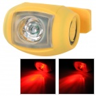 RAYPAL XJ-2226 5lm 1-LED Red Light 3-Mode Bike Tail Lamp - Yellow