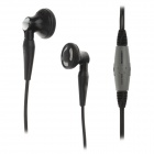 KEENION KDM-E003 Stereo Bass In-Ear Earphones w/ Volume Control / Microphone - Black + Light Grey