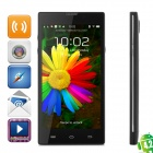 "HD5000 Quad-core Android 4.2 WCDMA Bar Phone w/ 5.0"" IPS, Wi-Fi, GPS, RAM 1GB and ROM 8GB - Black"