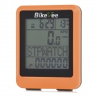 Bikevee wh-20 Wireless Waterproof Bicycle Computer - Orange (1 x CR2032)