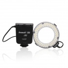 Aputure Amaran HC100 CRI 95+ Halo Ring 6W 1020lm 5500K 100-LED Flash Lamp for Canon Cameras - Black